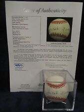 Hank Aaron Autographed Official National League (Coleman) Baseball– Full JSA LOA