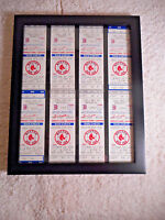 Boston Red Sox Ticket Stubs 1980s