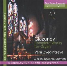 Zveginseva - A. Glazunov - Complete Works For Organ [New CD]