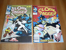 Cloak & Dagger #1 & 2, VF/NM, 1988, X-Factor