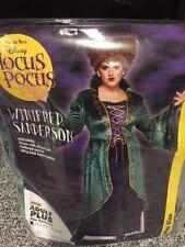 Winifred Sanderson Halloween Costume Plus Size 1X 18-20 Disney Hocus Pocus