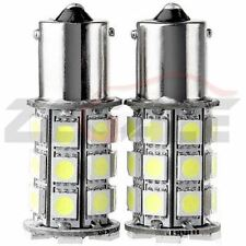 2pc White 27 SMD LED Car Rear Tail Light Lamp Bulbs 1156/207 BA15s P21W 5050 12V