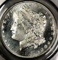 1878 S PCGS MS64 PL Morgan Silver Dollar $1 ~ Frosty Details & Prooflike Gem