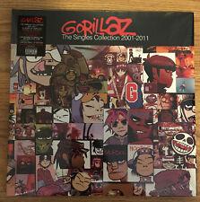 Gorillaz - The Singles Collection 2001-2011 2LP Vinyl RARE