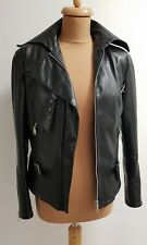 APART Biker weiches Leder Jacke 38 Festival Blogger Leather Jacket NP über 300€