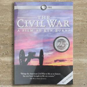 The Civil War A Film Directed By Ken Burns (DVD, 6-Disc Set) Brand New & Sealed