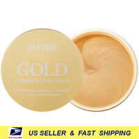 [ PETITFEE ] Gold Hydrogel Eye Patch 60 Patches (24K Gold&Ginseng) +Free Sample+