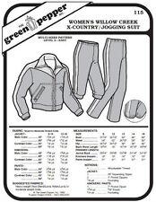 Women's Willow Creek Cross Country Jogging Suit #115 Pattern (Pattern Only)