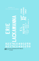K4 G 1:32 Decals Erie Lackawanna 40 Ft Boxcar White