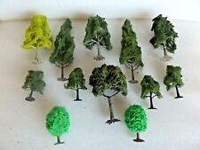 12  ASSORTED TREES     OO GAUGE
