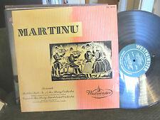 VIENNA KONZERTHAUS QUARTET martinu 1951 Westminster US WL 5079 Rare Swoboda lp !