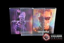 SCF3 Blu-ray Steelbook Lenticular Slip / Fullslip Protectors (Pack of 10)