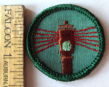 Girl Scout 1963-80 Junior COMMUNITY SAFETY BADGE Traffic Light Patch CHOOSE YEAR
