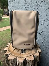 Everything Bag Toiletries Tote Carry-On Travel Bag. Beige.