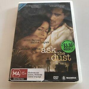 Ask The Dust EX RENTAL DVD Colin Farrell Salma Hayek