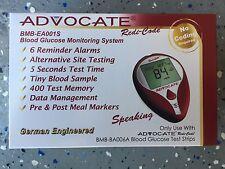 ADVOCATE Redi-Code Blood Glucose Meter