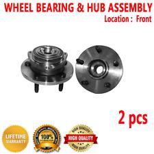 2pcs FRONT Wheel Hub Bearing Assembly for DODGE DAKOTA 2005-2010 2-Wheel ABS