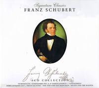"""Signature Classics """"FRANZ SCHUBERT"""" 5CD-Box NEU & OVP ZYX Music 2008"""