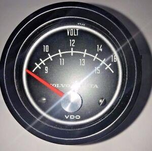 Volt Meter Gauge #837895 by Volvo Penta