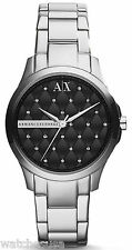 Armani Exchange AX5226 Black Dial Stainless Steel Women's Watch