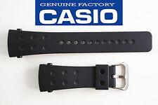 CASIO G-Shock  Original Black Rubber Watch BAND Strap G-8000