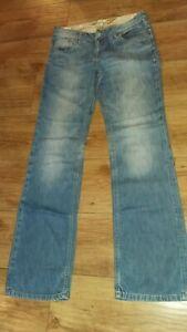 """Seven 7 Ladies W33"""" L40"""" Light Blue Jeans"""