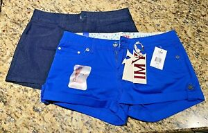 LOT of 2 -  City Streets & YMI Shorts - Size 9 - NEW w/ Tags