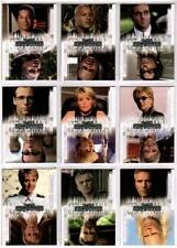Stargate SG-1 Season 8 Full 9 Card Twisted Chase Set from Rittenhouse Archives