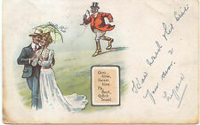 Comic Ellam Posted Ellanbee Series 502 Gent Miss Sweet Kiss