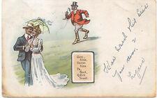 Comic Ellam Posted Ellanbee Series 502 Gent Miss Sweet Kiss