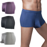 1pcs Sexy Mens Slim Boxer Briefs Underwear Trunks Shorts Bulge Pouch  New.