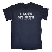 Funny Novelty T-Shirt Mens tee TShirt - Love Wife Hunting