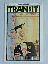 Transit No. 1 April 1987 Vortex Comics Ted McKeever's First Printing NM (9.4)
