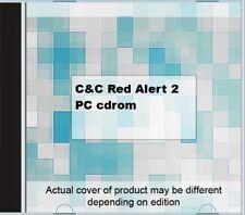 C&C Red Alert 2  PC cdrom.