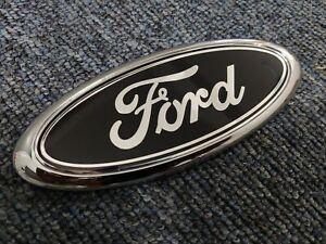 Ford badge transit oval Black 150mm x 60mm front/rear Emblem focus mondeo