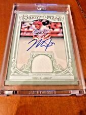Mike Trout 2013 Topps Gypsy Queen Relic Auto 18/25 MVP Hot SP Rare Autograph