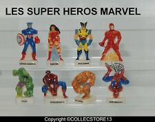 SERIE COMPLETE DE FEVES LES SUPER HEROS MARVEL