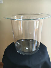 Partylite Seville 3-Wick Candle Stand Holder Replacement Glass Hurricane Retired