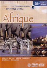 AFRIQUE - DECOUVREZ ET VIVEZ - DVD + CD - NEUF - VERSION FRANÇAISE
