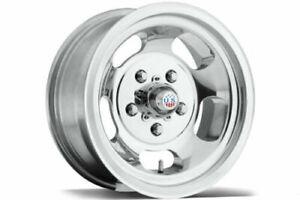 "15"" US Indy U101 Polished Wheels Suit Holden HQ-WB, HX, Chev- 15x7 5x120.65 -5N"