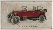 c1923 Armstrong-Siddeley  Motor Car 1923 Trade Ad Card