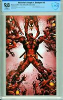 Absolute Carnage vs. Deadpool #3 Tyler Kirkham Virgin Exclusive - CBCS 9.8!