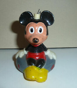 1950s Style DISNEY Ornament MICKEY MOUSE Smiling & Sitting On Inner Tube