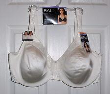 Bali Minimizer Bra Size 38DD Ivory No Show Thru Comfort Wire Convertable Uw