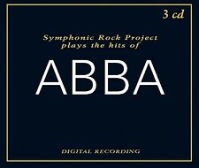 SYMPHONIC ROCK PROJECT - PLAYS THE HITS OF ABBA  3 CD NEU