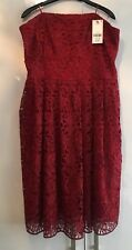 Stunning Red midi Dress. Brand New With Tags. Size 18.