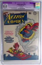 ACTION COMICS #102 CGC 8.0 SUPERMAN 1946 Mr. Mxyzptlk cover / story