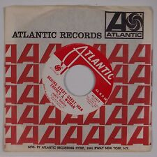 PERCY SLEDGE: Cover Me / Behind Every Great Man ATLANTIC Soul DJ Promo VG++ 45