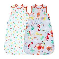 Grobag Unisex Childs Play Twin Wash & Wear Twin pack 1.0 Tog 18-36 Months