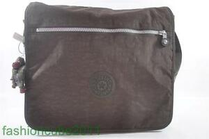 New With Tag KIPLING MADHOUSE EXPANDABLE MESSENGER CROSSBODY BAG - Espresso